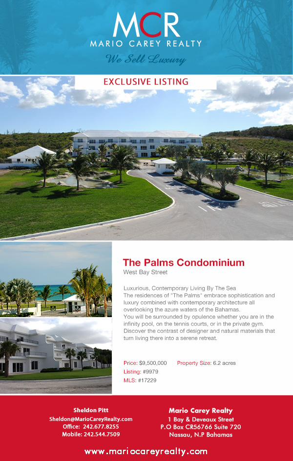 The Palm Condominimum, West Bay Street, New Providence