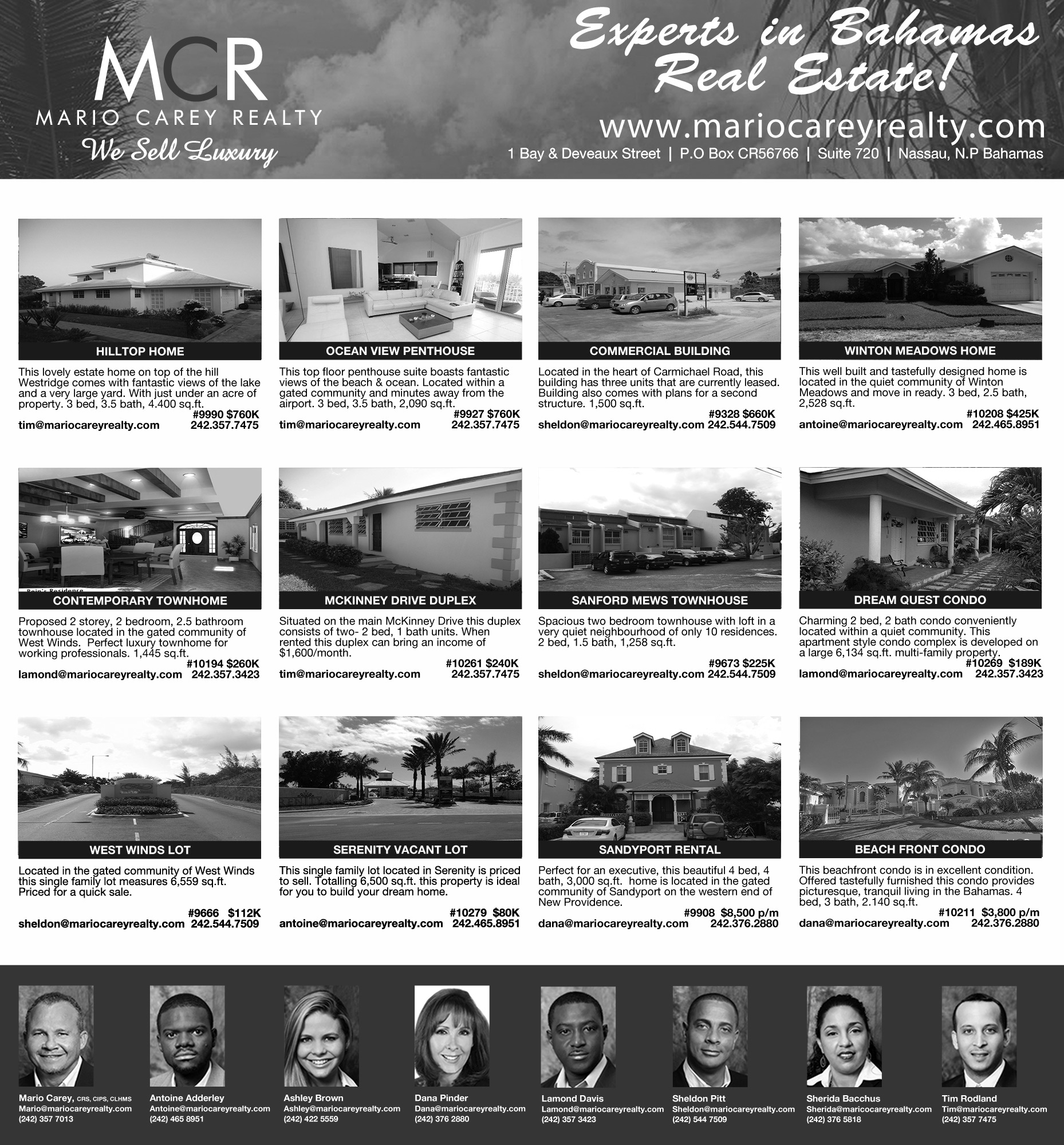 Properties For Sale & Rent in The Bahamas!