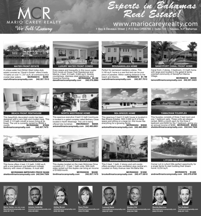 Bahamas Real Estate | MCR Listings