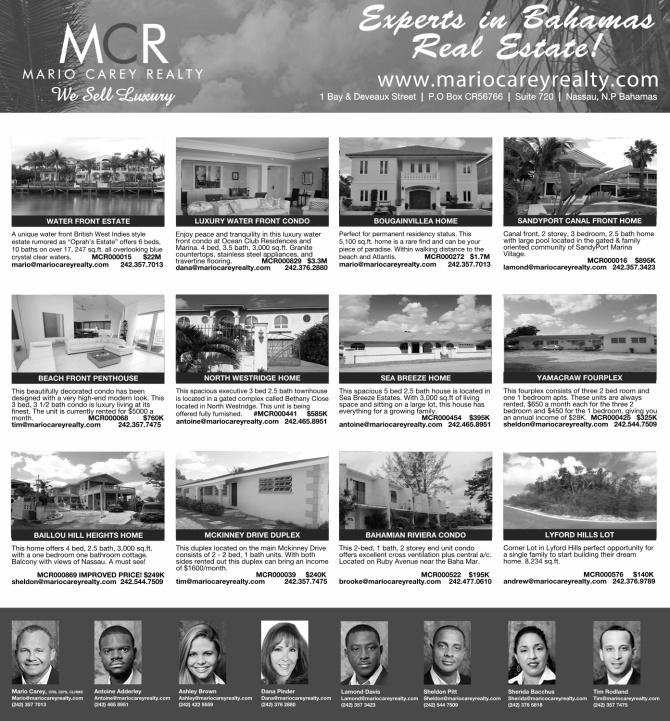 Bahamas Real Estate | MCR Listings