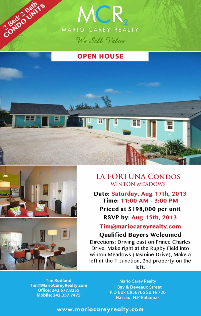 La Fortuna Apartments - Open House