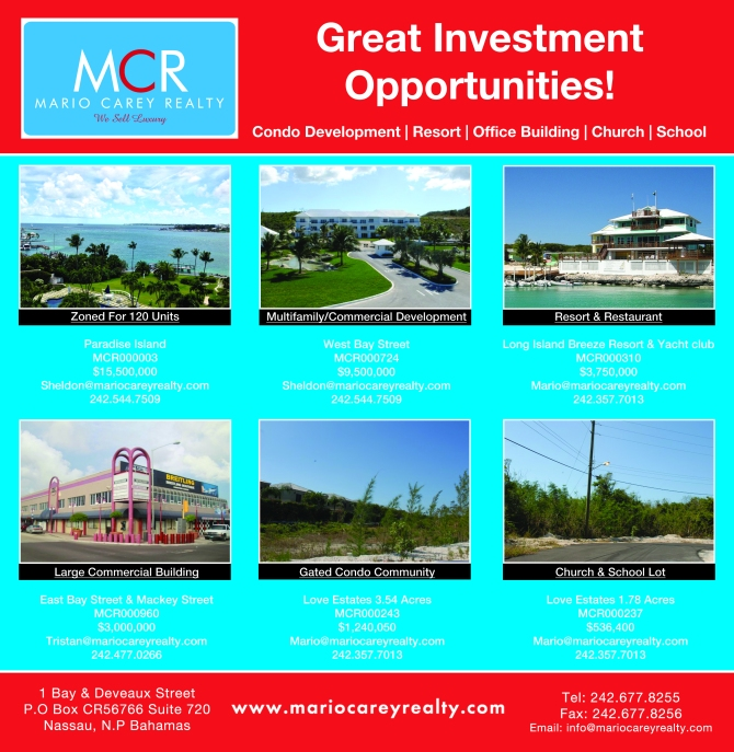 Bahamas Real Estate | Great Investment Opportunities