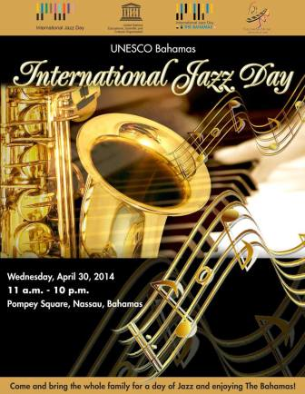 International Jazz Day Flyer
