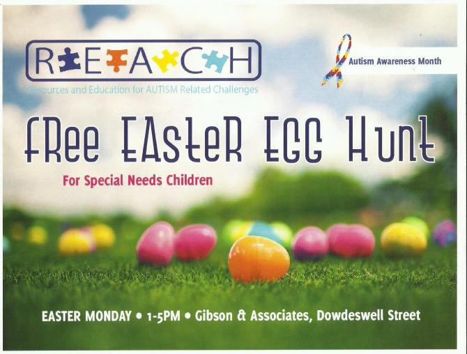 Bahamas Real Estate | R.E.A.C.H. Free Easter Egg Hunt