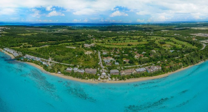 South Ocean Resort Aerial