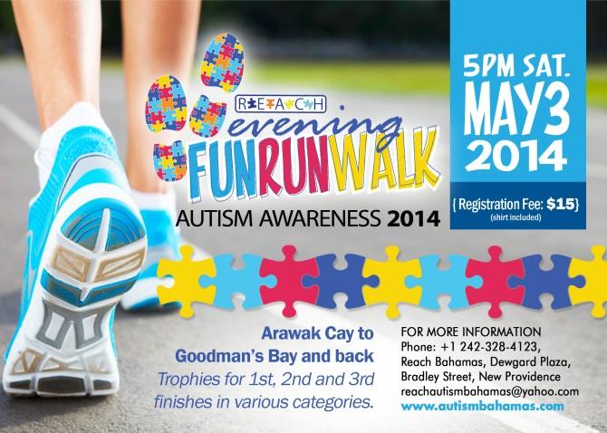 Bahamas Real Estate | R.E.A.C.H. FUN RUN WALK - Autism Awareness 2014