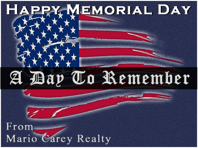 Bahamas Real Estate | Happy Memorial Day From Mario Carey Realty