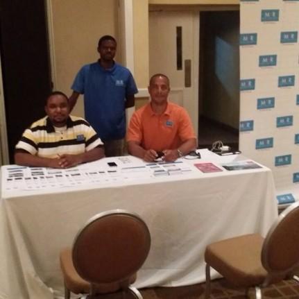 Pictured here are MCR Agents (L-R) Andrew Seymour, Antoine Adderley, Sheldon Pitt